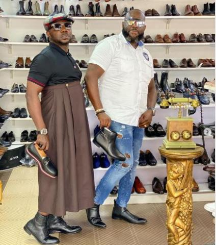 Fashion is madness, only bold people step out in style – Osebo
